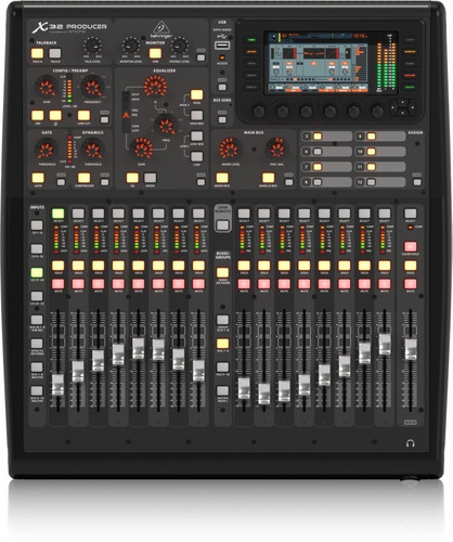 mezcladora consola digital x32 producer behringer + envio