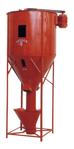 mezcladora de alimentos azteca 500kg 3hp electrico