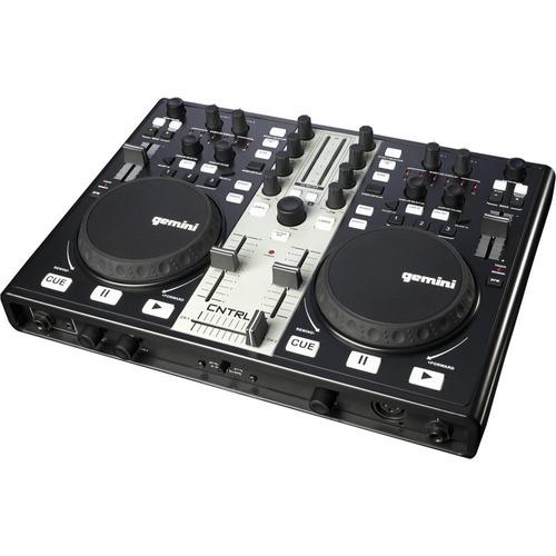 mezcladora de audio para dj's gemini cntrl-7
