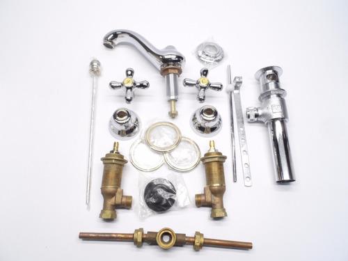 mezcladora lavabo/manerales urrea bella época cromo oro