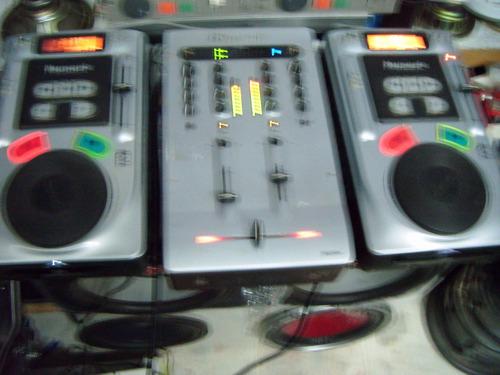 mezcladora matrix 2 numark axis joog dj,s masters music