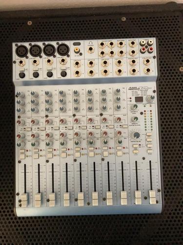 mezcladora mixer alesis multimix12 usb con efectos