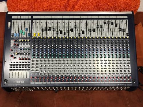 mezcladora mixer soundcraft gb4 24 ch venta o cambio