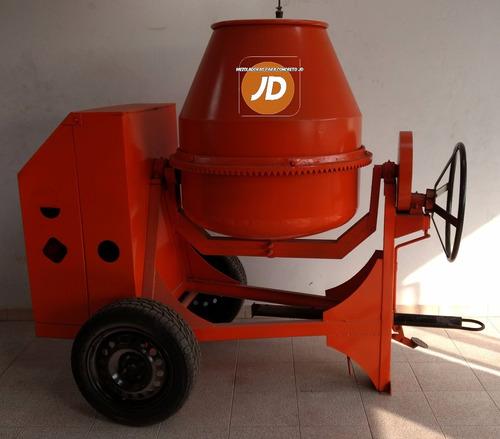 mezcladora para concreto bulto y medio jd (sin motor)
