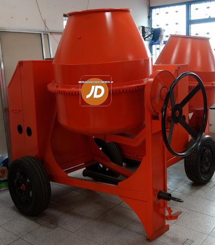 mezcladora para concreto dos bultos jd - con motor diésel