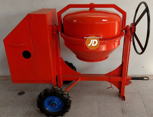 mezcladora para concreto medio bulto jd - gasolina
