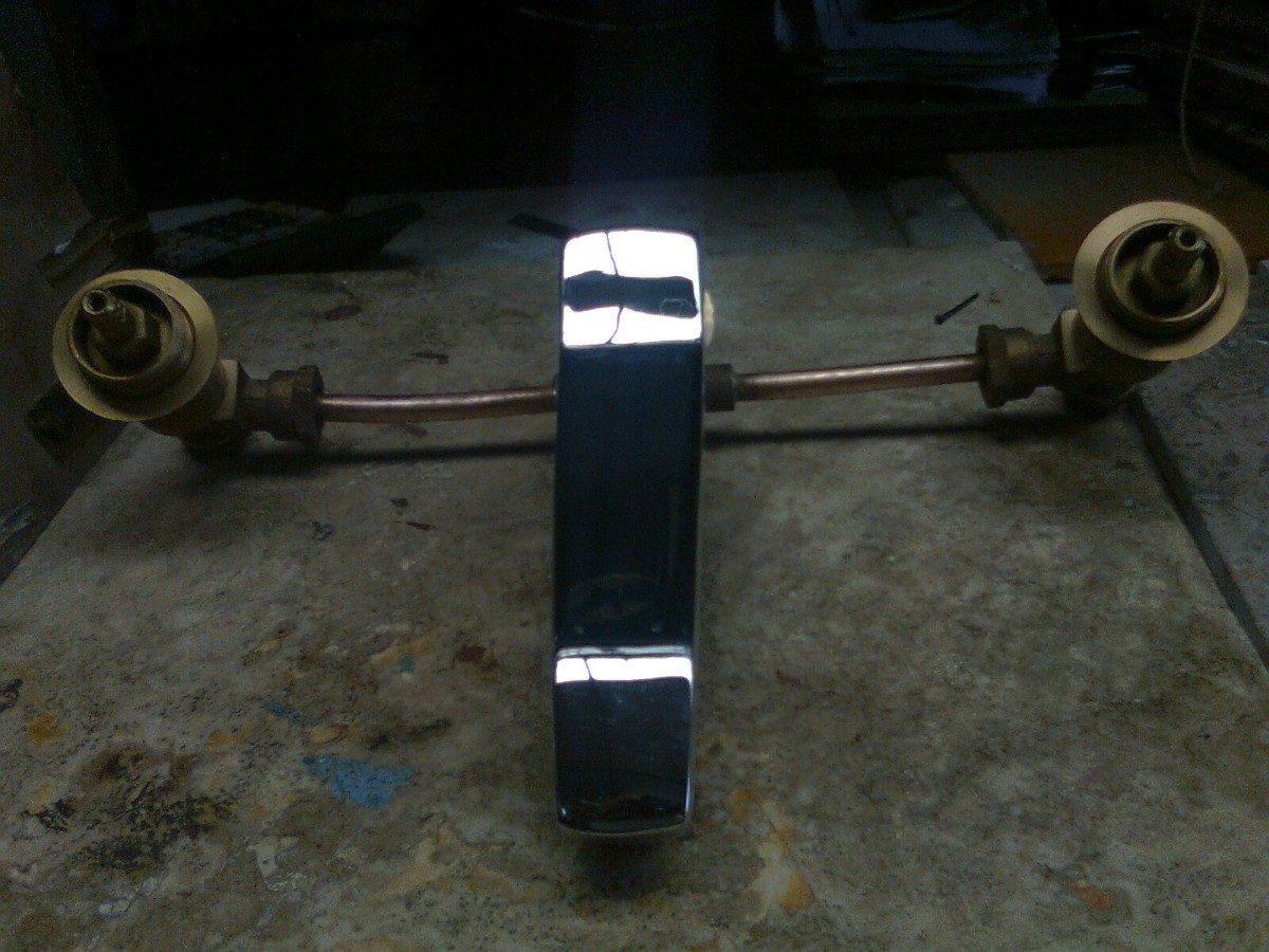 Mezcladora para fregador urrea cod 252 en for Mezcladora para regadera urrea