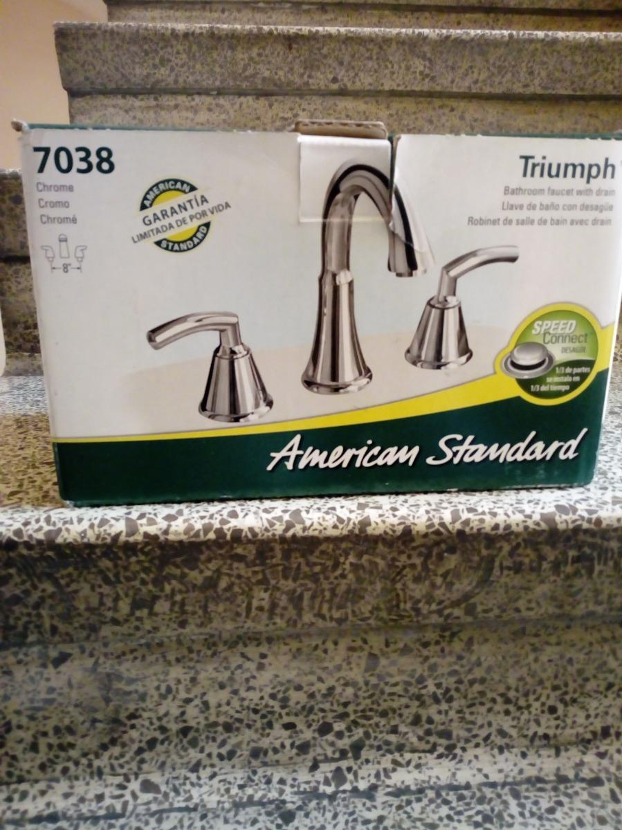 Mezcladora Para Lavabo American Standard 170000 En Mercado Libre