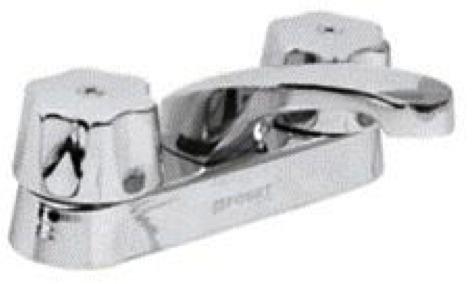 mezcladora para lavabo cuello corto foset llave 49230