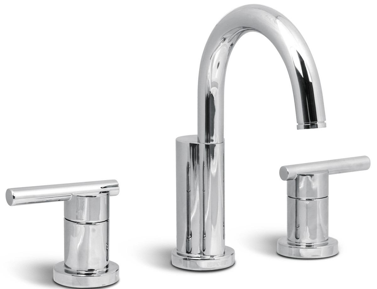 Mezcladora para lavabo taladros separados cromo foset for Mezcladora para lavabo