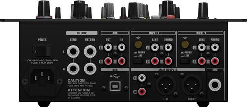 mezcladora premium para dj behringer nox404