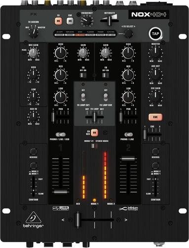 mezcladora premium p/dj behringer nox404 confirmar existenc