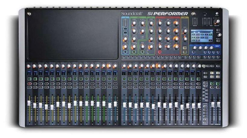 mezcladora soundcraft si performer 3 32 chan control dmx 312 en mercado libre. Black Bedroom Furniture Sets. Home Design Ideas