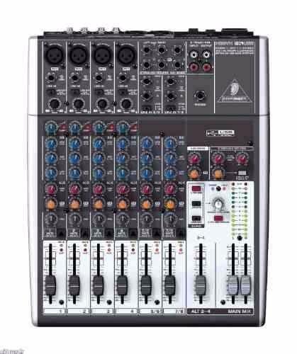 mezcladora xenyx 1204usb con interfaz usb directa behringer