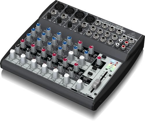mezcladora xenyx x1202 behringer + envio