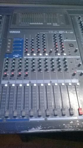 mezcladora yamaha mixer console ga 24/12