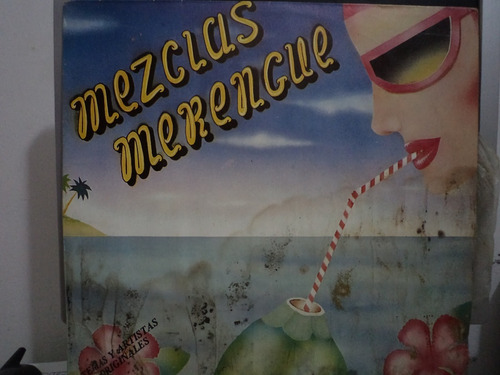 mezclas de merengues - varios exitos -  lp