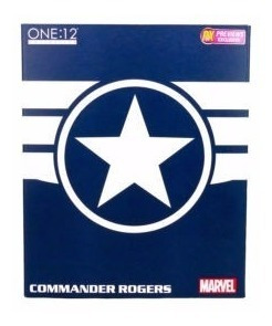 mezco 1/12 - marvel commander rogers - knowhere
