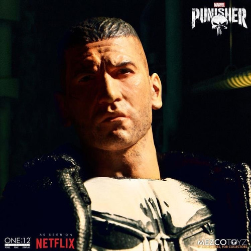 mezco toyz the punisher one:12 collective 1/12