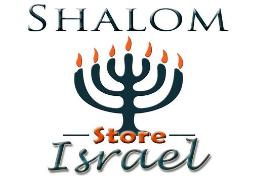 mezuzahs mezuzot importadas de israel - aluminio azul orión