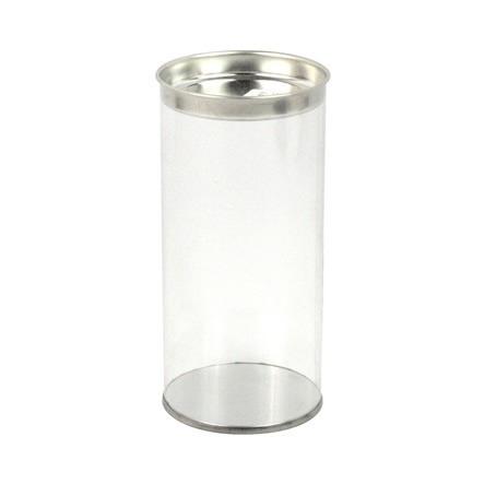 mf cilindro pvc tapa metálica 6.6x14cm  6 pza
