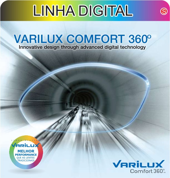 f980794d5e4e0 Mf Varilux Comfort 360° Stylis 1.67 Crizal Forte Transitions - R  3.029