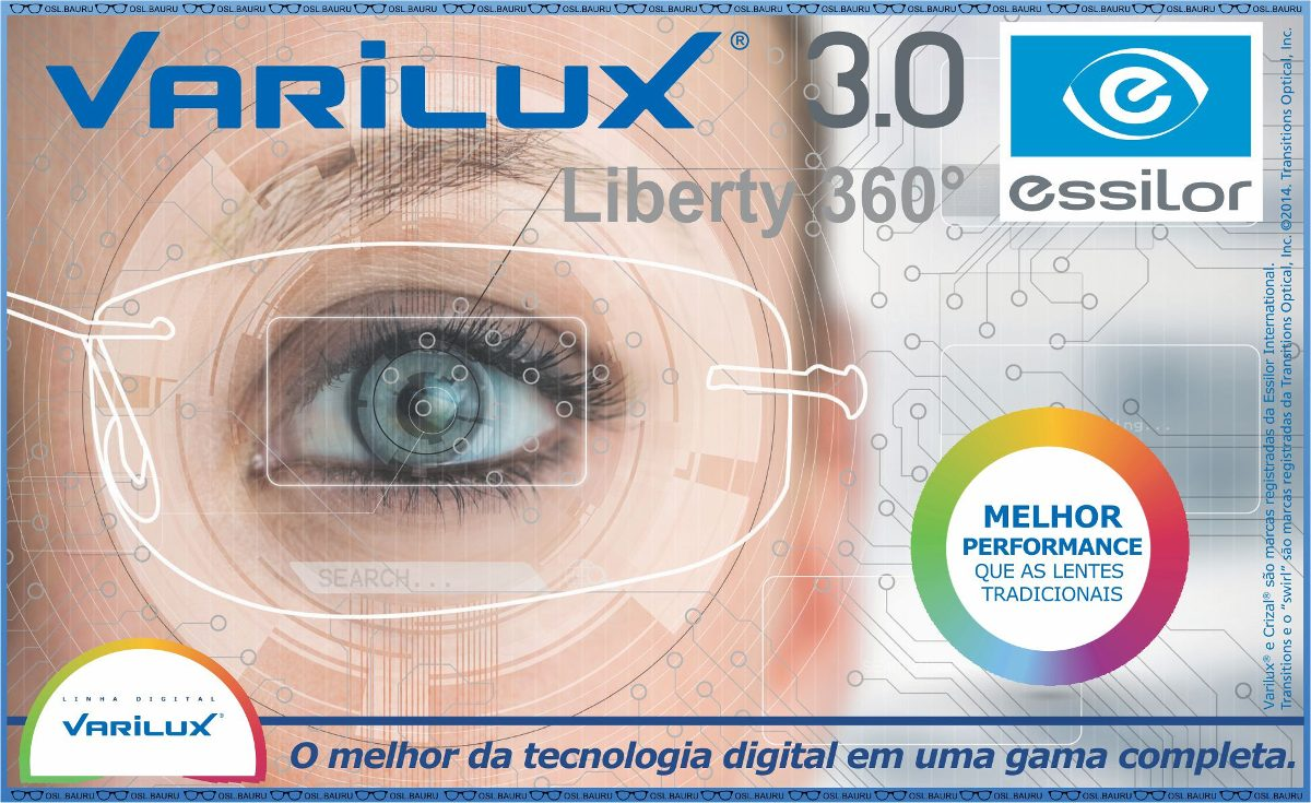 4acd4ecff711c Mf Varilux Liberty 360 Airwear Transitions Crizal Forte - R  1.650 ...