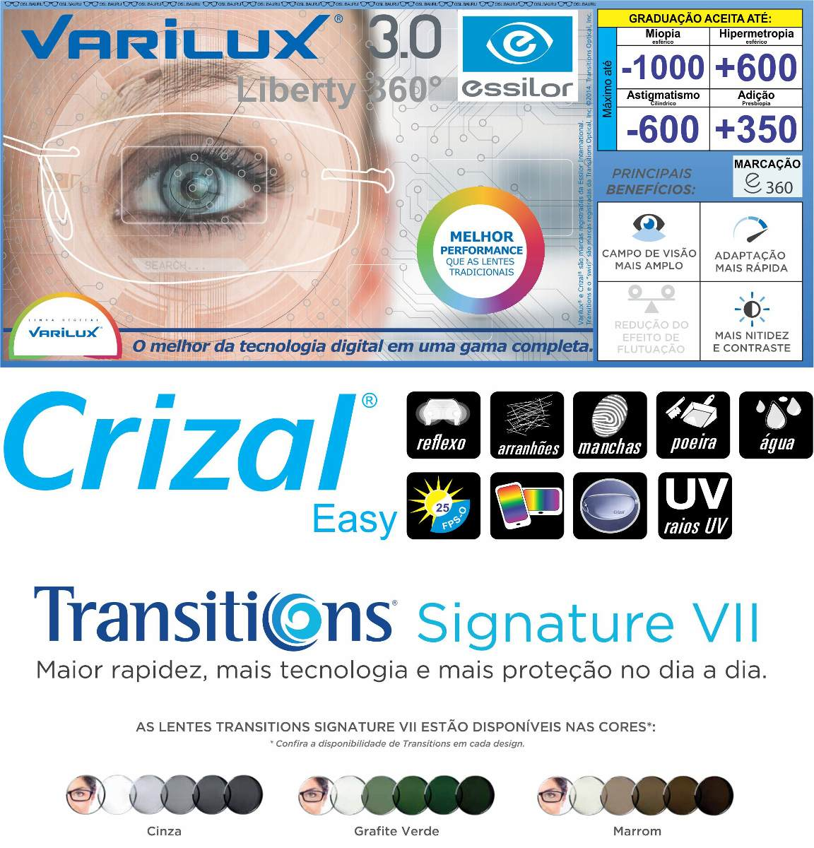 97021d805f299 Mf Varilux Liberty 360 (digital) Transitions Crizal Easy - R  1.252 ...