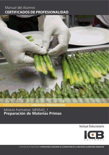 mf0543_1: preparación de materias primas(libro )