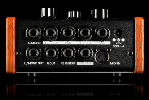 mf108m cluster flux, efecto de moog music - audiotecna