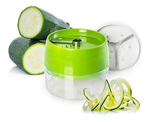 mftek cortador verduras en espiral 4 en 1 cortador mano en e