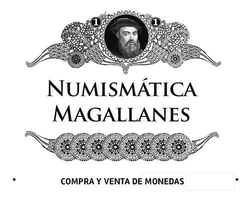 mg* argentina 1882 moneda 10 centavos plata
