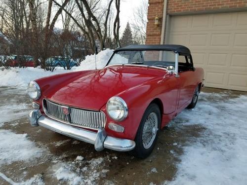 mg midget convertible coupe 1963  us 8,000