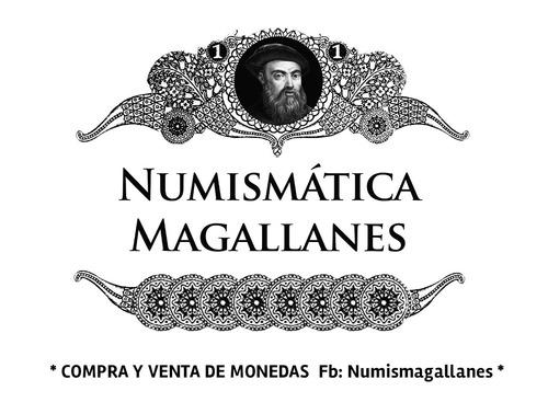 mg* uruguay 1 peso 1893 santiago moneda de plata excelente