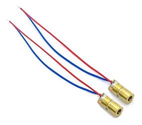 Diodo LASER Rojo 5v 650 nm 5mW 6mm Eletronica Arduino SP
