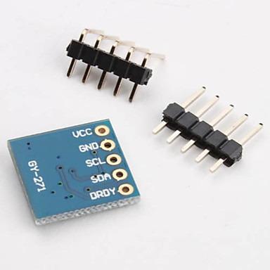 mgsystem brújula electrónica hmc5883l de 3 ejes arduino