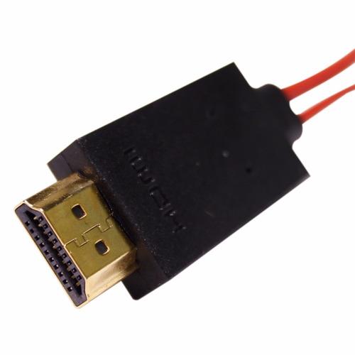 mhl cabo adaptador micro usb p/ hdmi samsung galaxy s4 i9300