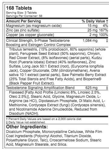 mhp nuevo testosterona  168  tabletas