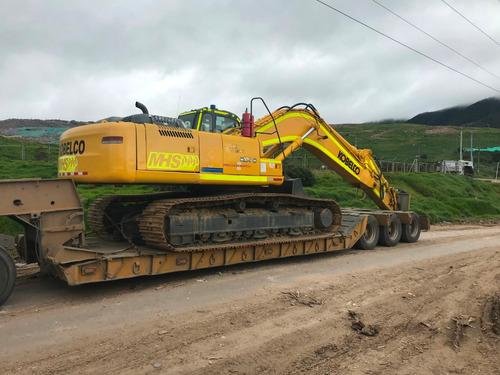 mhs - excavadora kobelco sk350 - 2012 - 5800 horas - 36 ton