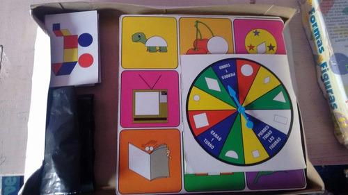 mi alegria juego de mesa formas y figuras 80'