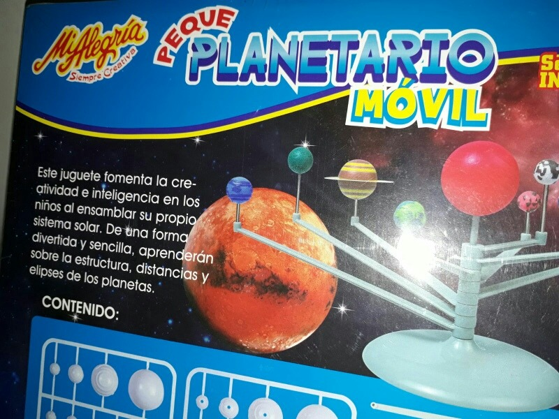 Pzas 41 Planetario Móvil Serie Infantil Alegría Mi n0w8mNv