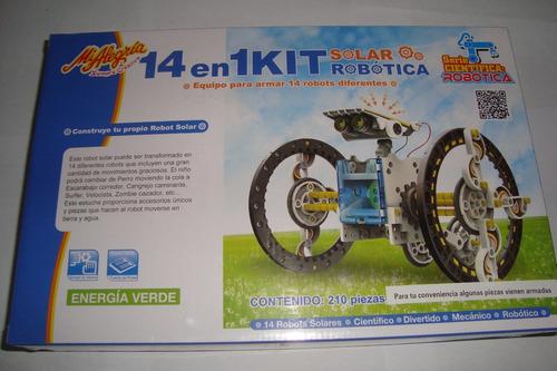 mi alegria robot 14 en 1 poder del sol