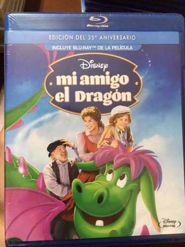 mi amigo el dragón 35 aniversario | blu-ray original sellado