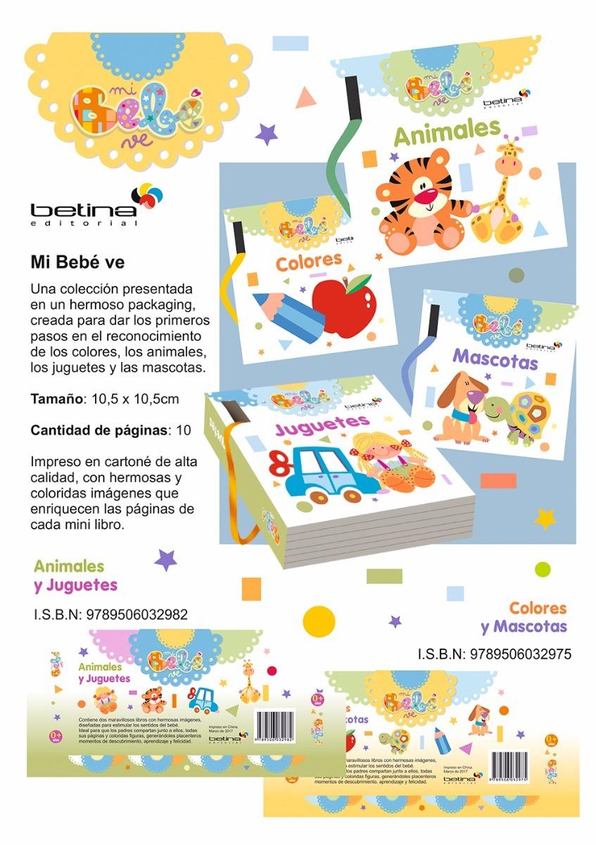 Mi Bebé Ve Pack 2 Libros Con Anillo Desmontable. Betina - $ 430,00 ...