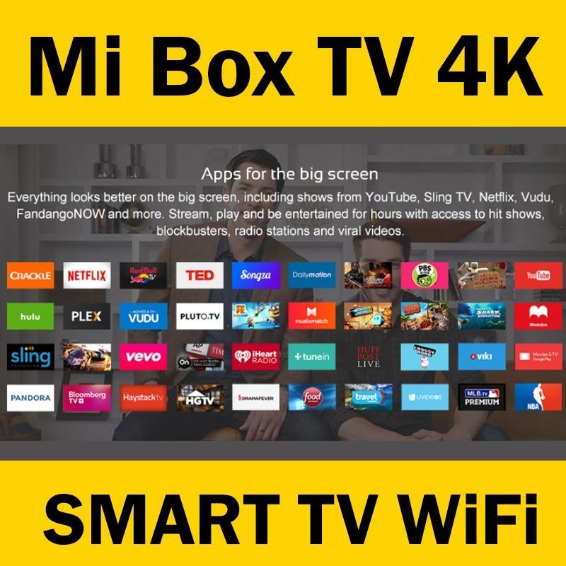 Mi Box 3 - 4k Smart Tv Xiaomi Hd Wifi - Chrome Cast Netflix