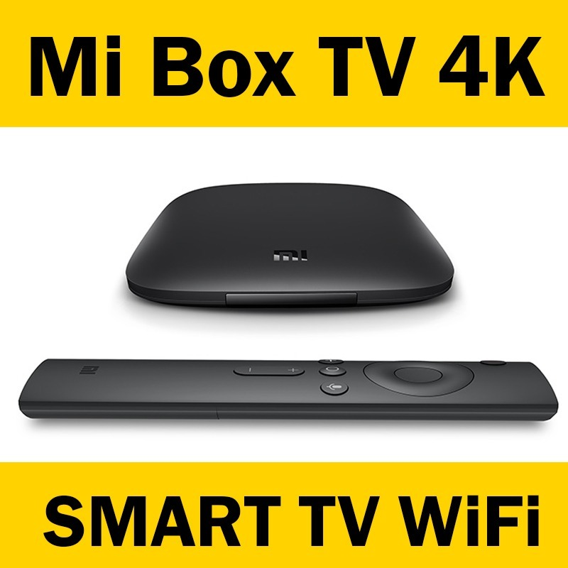 Mi Box 3 - 4k Smart Tv Xiaomi Hd Wifi - Chrome Cast Netflix