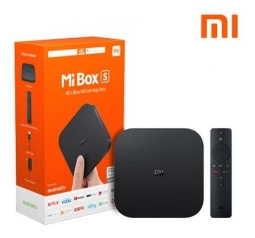 mi box s tvbox smart xiaomi version internacional 4k