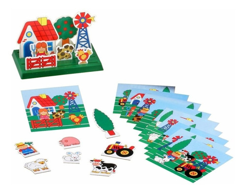 mi campo juego niños 3d don rastrillo ruibal mundo manias