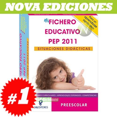 mi fichero educativo pep 2011 1 vol + 1 cd rom + 63 fichas