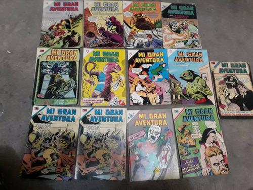 mi gran aventura comics novaro grandes